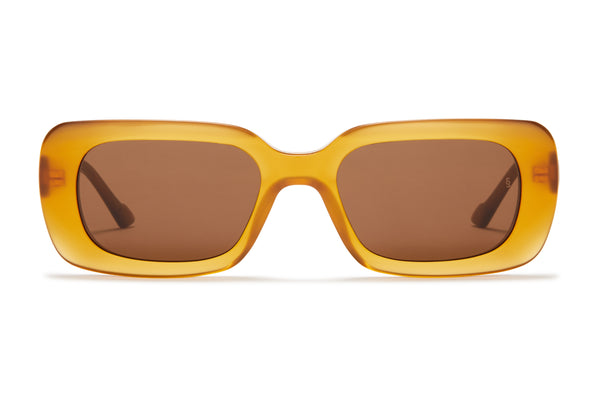 Sunday Somewhere Ursula Amber Women's Acetate Sunglasses