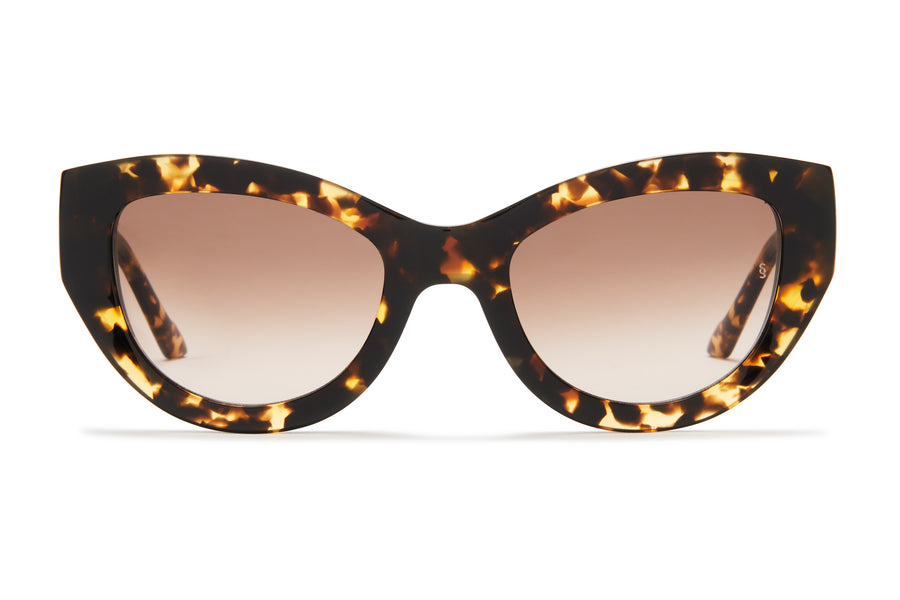 Sunday Somewhere Harper Tokyo Tort Women's Oversized Acetate Sunglasses