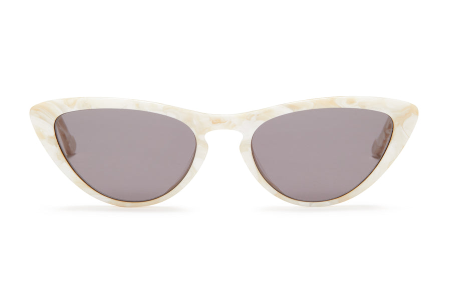 Sunday Somewhere Bon Bon Mother of Pearl Women's Cat-Eye Sunglasses
