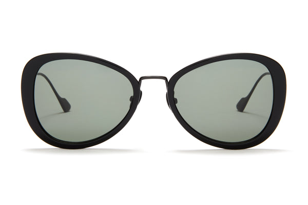 Sunday Somewhere Iggy Black Women's Geometric Sunglasses