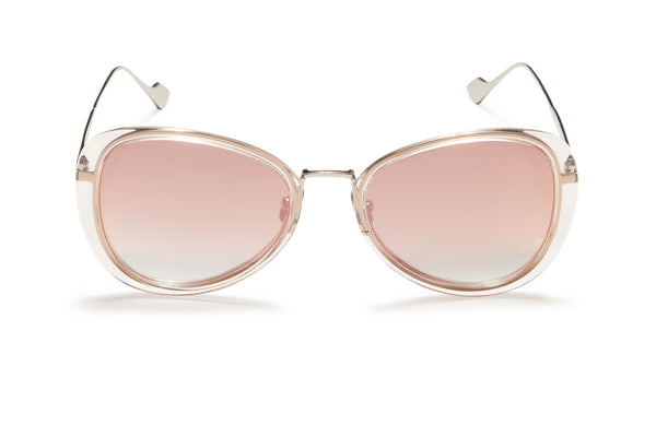 Sunday Somewhere Iggy Pink Women's Geometric Sunglasses