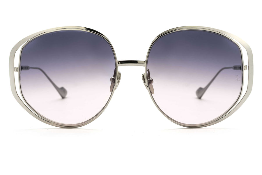 Marjorie oversized sunglasses in silver