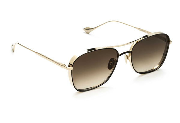 Jagger aviator sunglasses in black