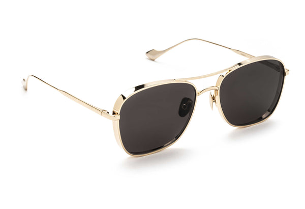 Jagger aviator sunglasses in gold