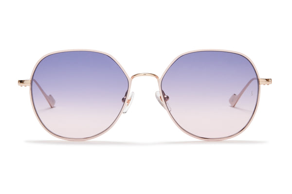 Sunday Somewhere Sedgwick Pink Women's Metal Sunglasses