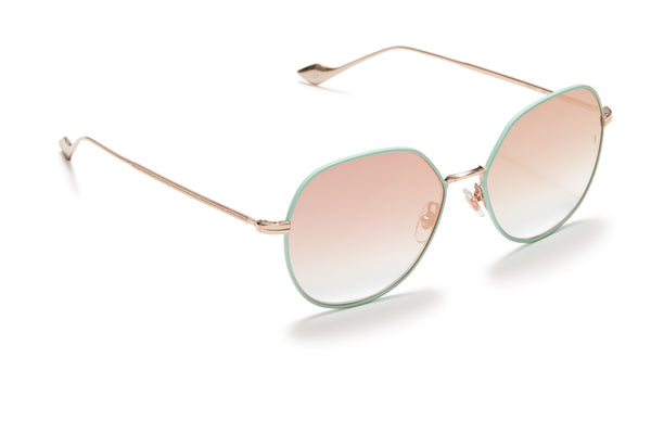 Sunday Somewhere Sedgwick Sky Blue Women's Metal Sunglasses