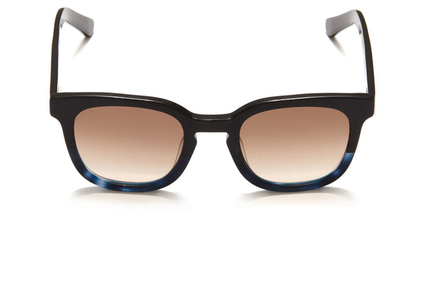 Sunday Somewhere Ubud in Blue Men's Square Acetate Sunglasses