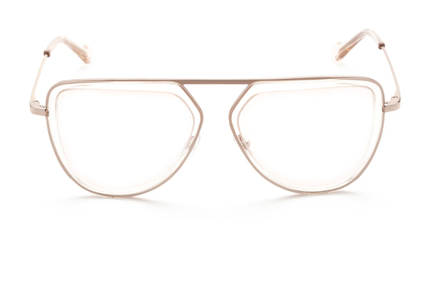 Zane oversized optical in brown