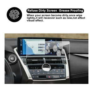 2018 LEXUS NX 300 Touch Screen Car Display TRAPEZOID Navigation Screen Protector, (10.3-Inch)