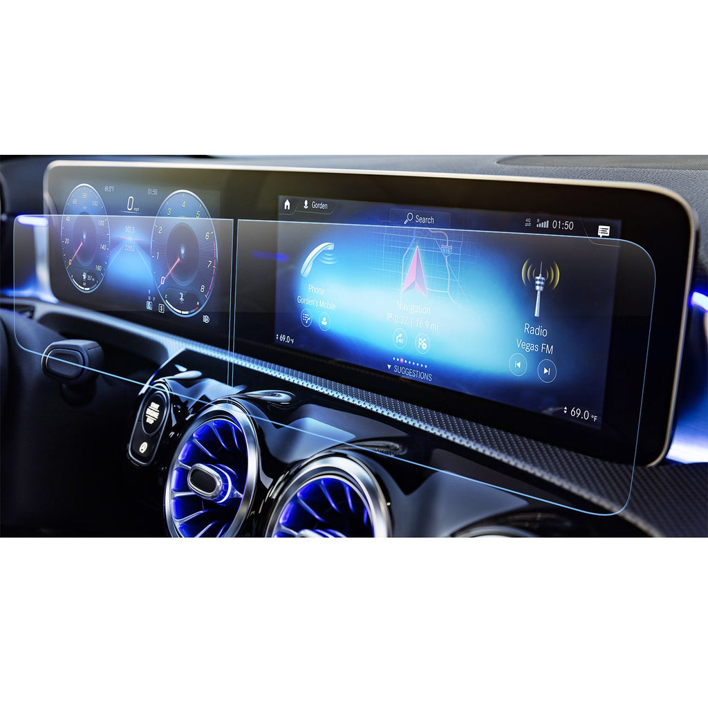 2019 Mercedes-Benz A-class display screen protector