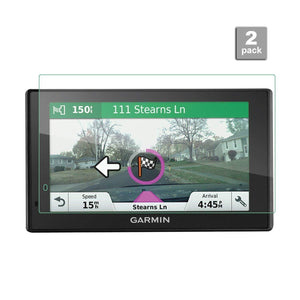Garmin DriveSmart 60 NA LMT 62 56 LMT / RV 660LMT  Display Tempered Glass Screen Protector [2 pcs]