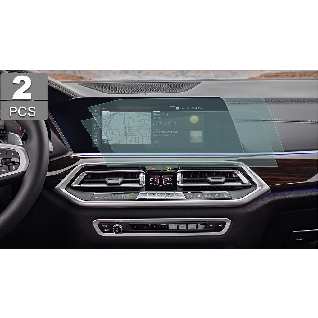 2019 BMW X5 12.3-Inch Navigation Screen PET Plastic Protective Film Anti-Glare(Left-hand Drive)