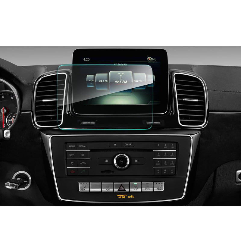 2015-2018 Mercedes GLE(W 166)/ Mercedes GLS (X 166) 8-Inch Navigation Screen Tempered Glass