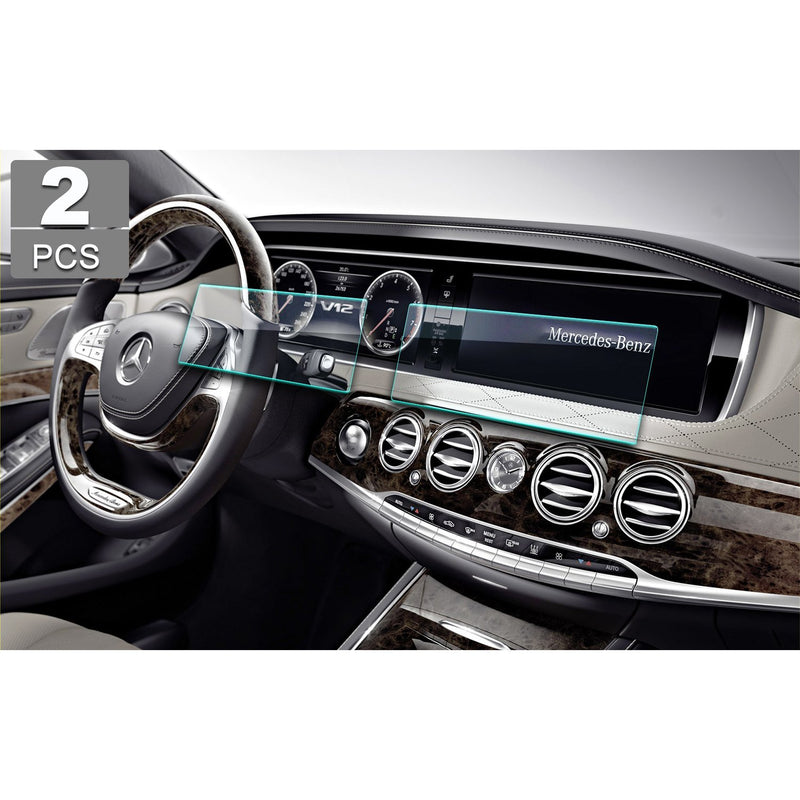 2013-2017 Mercedes Benz  S-CLASS W222 12.3-Inch Navigation Screen Tempered Glass