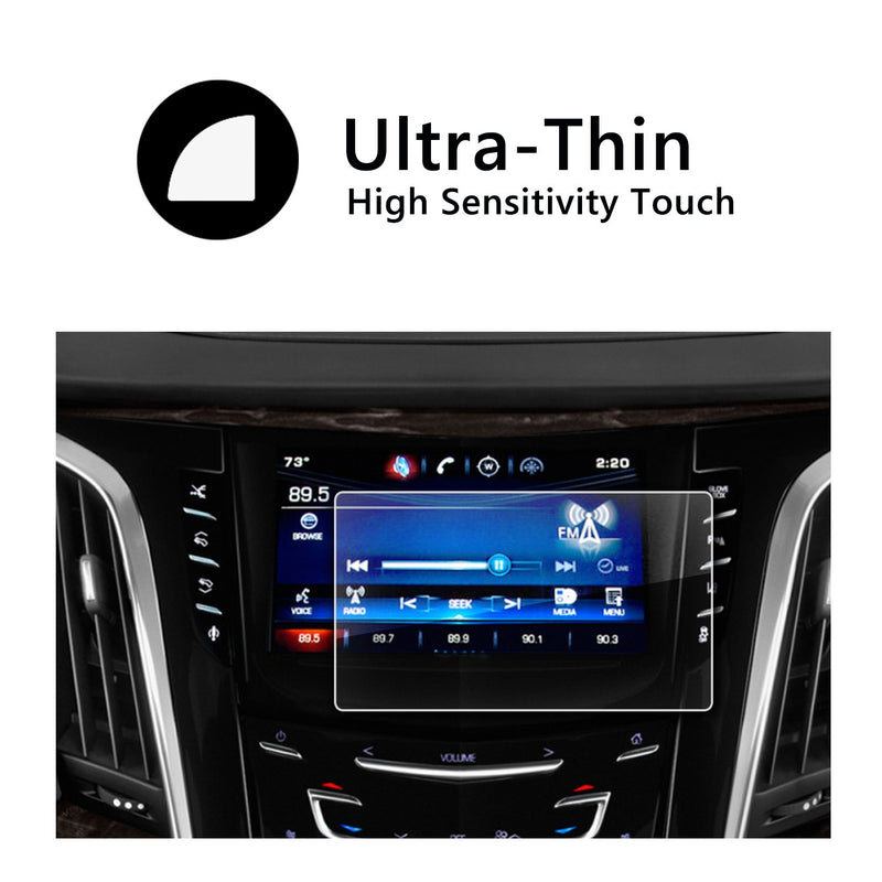 2015-2018 Cadillac Escalade 8-Inch CUE infotainment Interface Touchscreen Car Navigation Touch Screen Protector