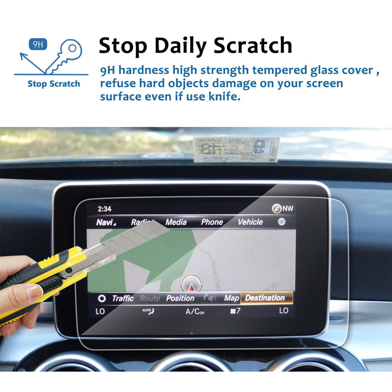 2015-2018 Mercedes benz GLC -class/V-class 8.4-Inch Display Navigation Screen Protector