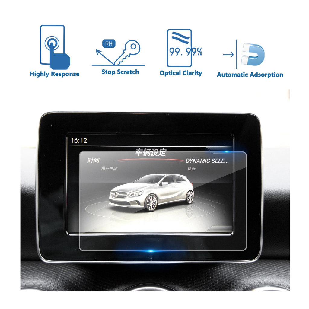2016-2018 Mercedes benz A-CLASS (W176) 7-Inch Display Navigation Screen Protector
