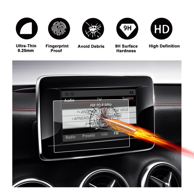 2016-2018 Mercedes benz B-CLASS (W 246) 7-Inch Display Navigation Screen Protector