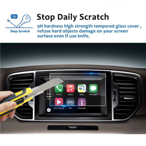 2017 2018 Sportage UVO 7-Inch Display Screen Protector