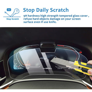 2019-2020 BMW 7 Series Dashboard Screen Protector