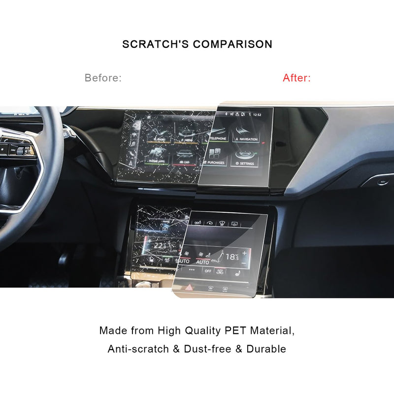 2019 Audi E-Tron Navigation Display GPS PET (Plastic Film )