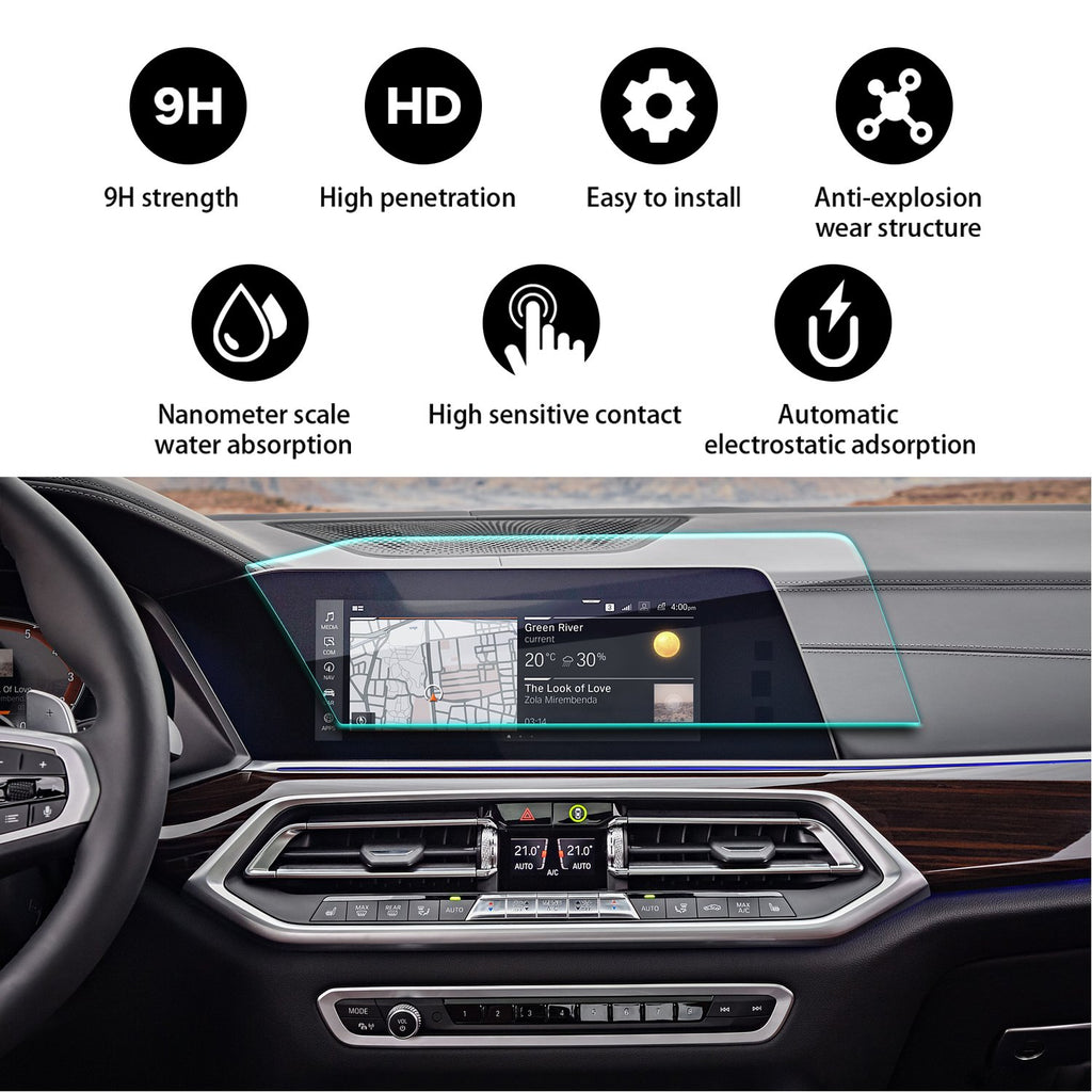 2019 BMW X5 12.3-Inch Navigation Screen Tempered Glass(Left-hand Drive)