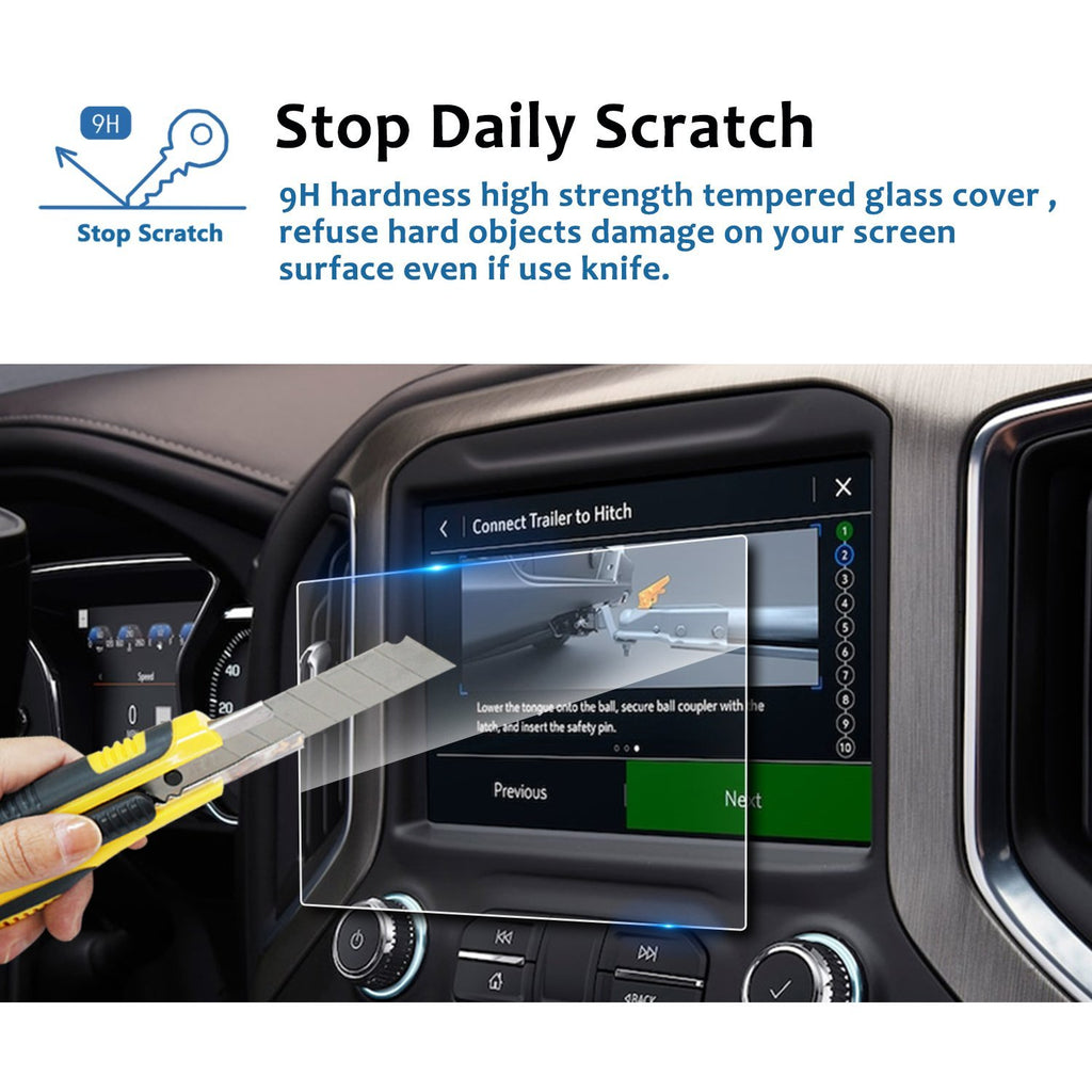 2019 GMC Sierra 1500 8-Inch IntelliLink Navigation Screen Protector