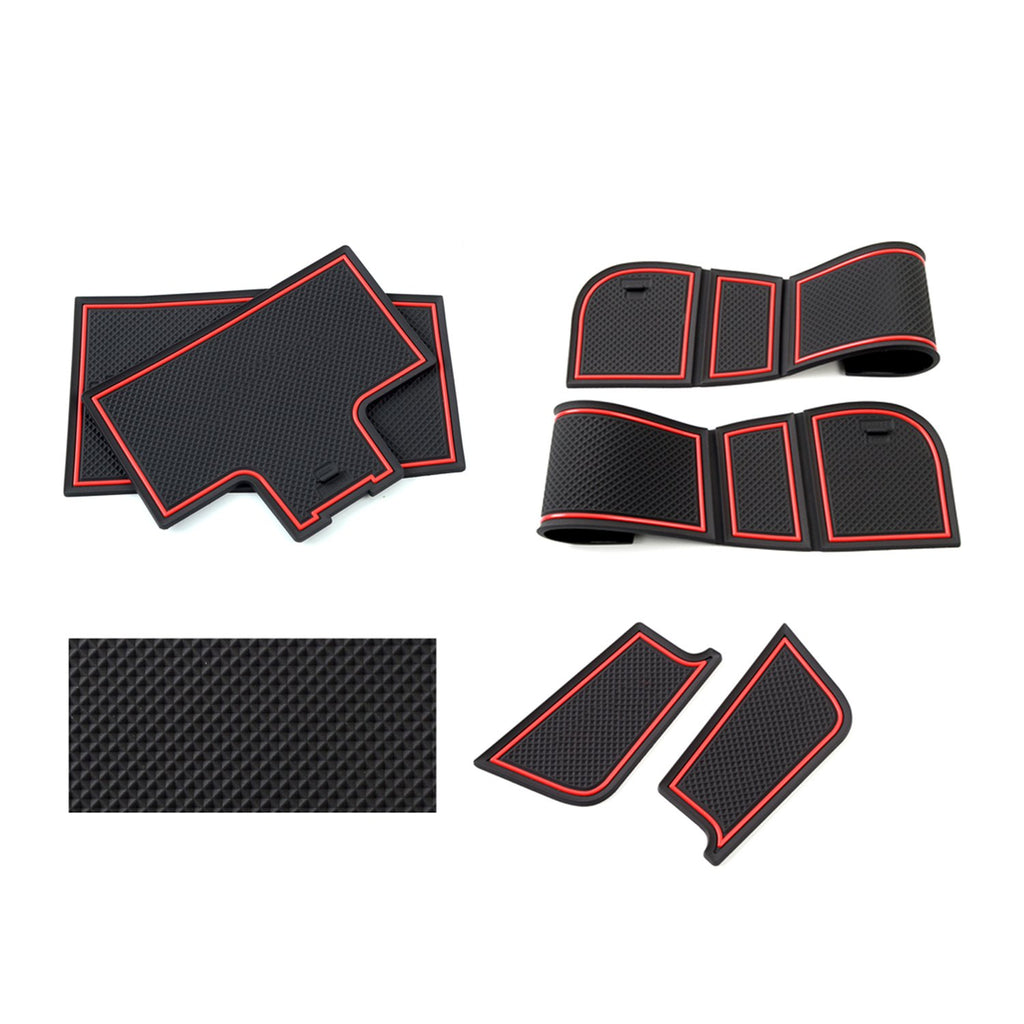 2019 Mercedes-benz A-class Auto Groove Anti-slip Pad/Door Styling Mats(Left-hand drive)