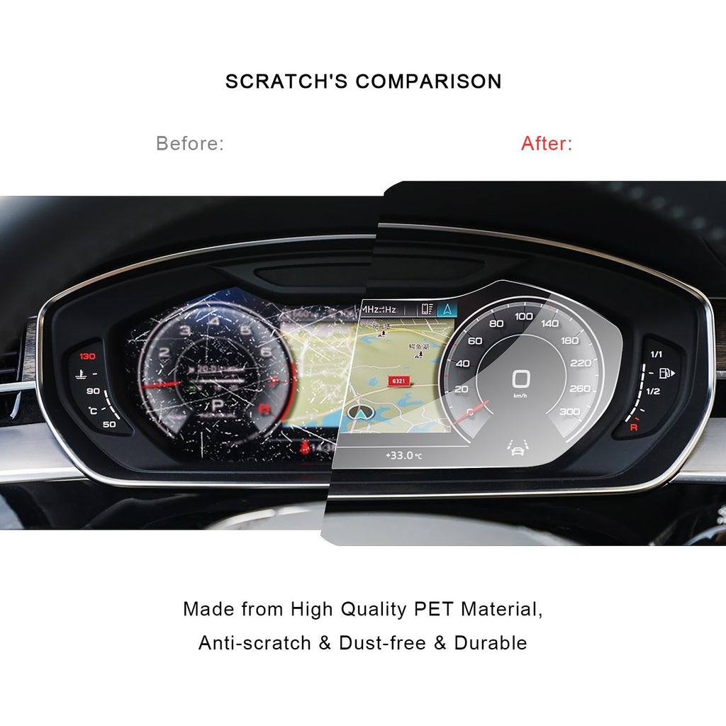 Audi A8 2019 Screen Protector Dashboard PET Plastic Film