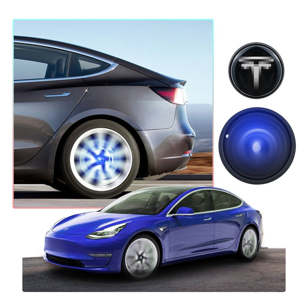 Tesla Model 3Model SModel X Wheel Center Hubcaps