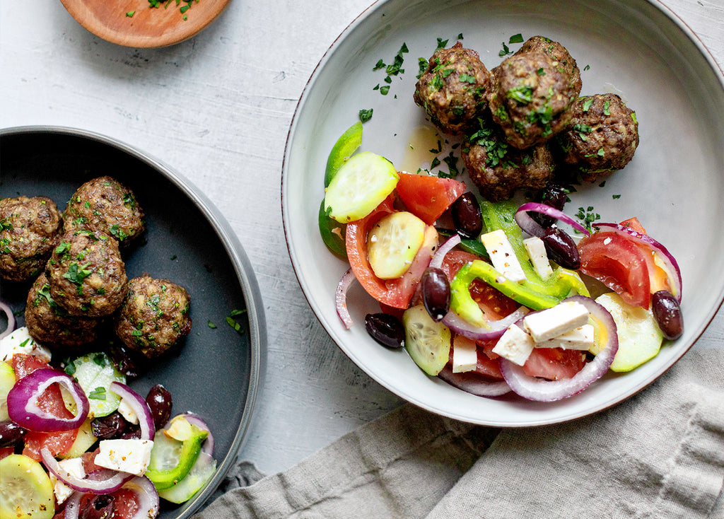 100% greek meatballs