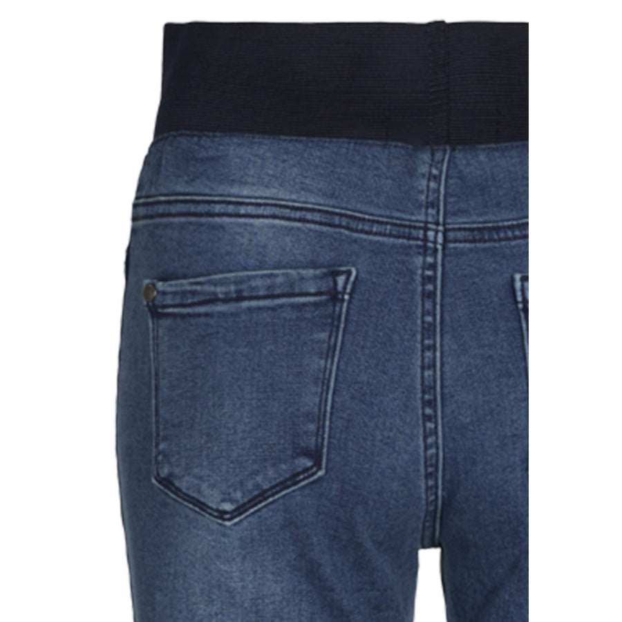 Freequent capri denim, sininen - Moment.fi