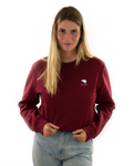 Sweat Plat Pays™  - Burgundy - Belgity