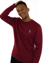 Sweat Manneken™ - Bordeaux - Belgity