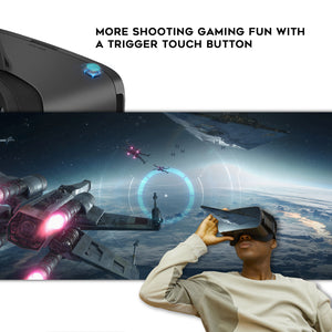 DESTEK V5 VR Headset for Smartphones with 5.5-6.8in Screen - DESTEK