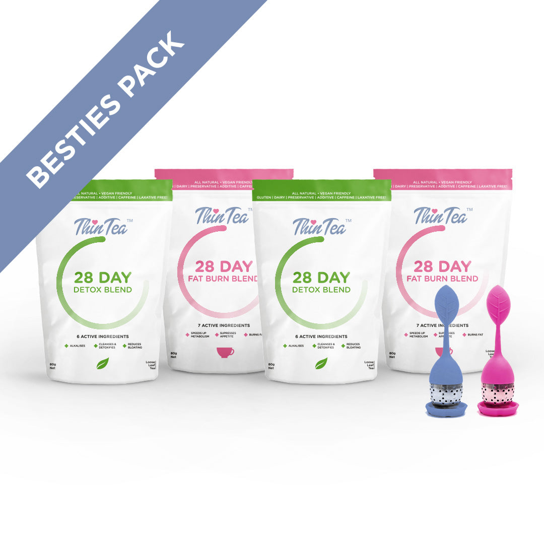 Bestie's Pack (2 x 28 Day Detox + 2 Tea Infusers)
