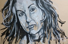 Load image into Gallery viewer, ALANIS MORISSETTE - Original Oil Painting By Leah Justyce (BaVA)