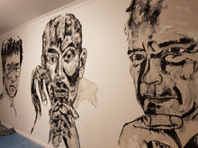 Load image into Gallery viewer, Removable Hand Painted WALL MURALS by Leah Justyce (BaVA)