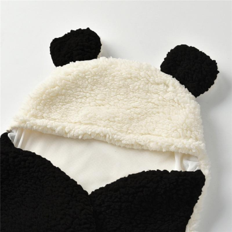 Panda Newborn Baby Blanket Swaddle Sleeping Bag