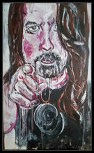 Load image into Gallery viewer, DAVE GROHL - Original Artwork FOR SALE Oil Painting By Leah Justyce (BaVA)