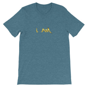 I AM Short-Sleeve Unisex LIMITED EDITION T-Shirt by URBAN JUSTYCE CLOTHING