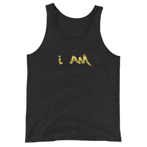 I AM Unisex Limited Edition Tank Top By URBAN JUSTYCE CLOTHNG