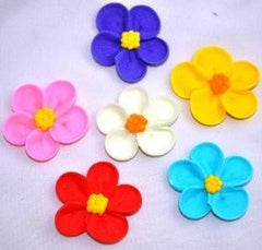 Assorted Edible Flowers - Large - 3.5cm