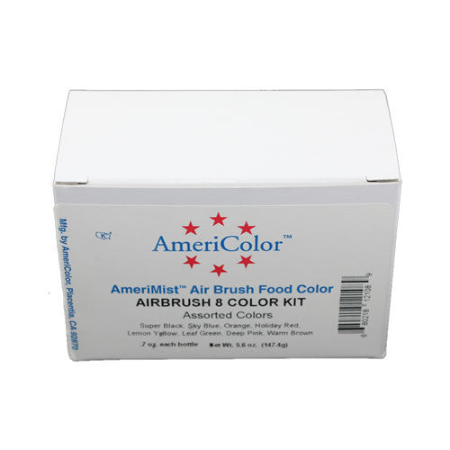 Amerimist Airbrush 8 Colour Kit