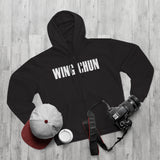 Unisex Wing Chun Hooded Zip Sweatshirt