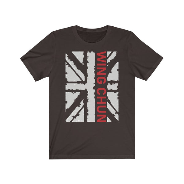 Wing Chun Union Jack  - T-Shirt