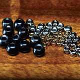 Countersunk Tungsten Beads - Black