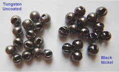 Beads Tungsten Slotted - Black Nickel