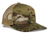 SYNDICATE MULTICAM CAMO/KHAKI TRUCKER HAT