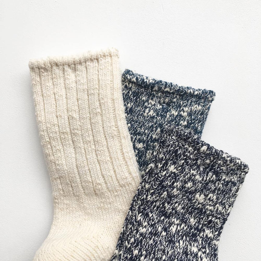 Japanese Socks - Long, White